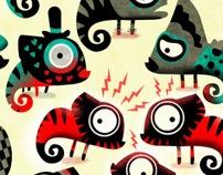 Artwork vector for newspaper by Raul Arias, via Behance