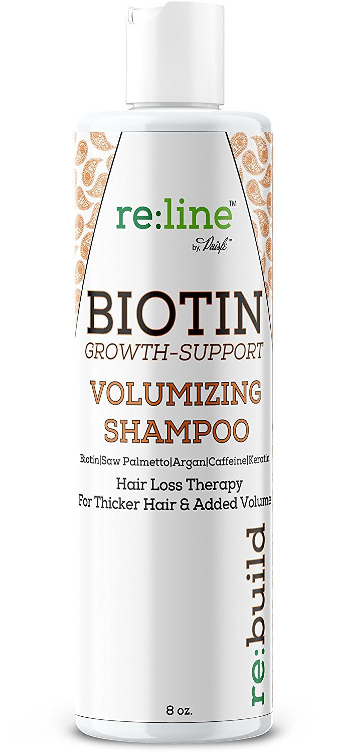 Biotin Hair Loss Shampoo - Volume Shampoo For Hair Growth ALL NATURAL Thickening For Thinning Hair Volumizing Treatment For Men  #haircare