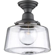 industrial filament bulb ceiling light | modern farmhouse style
