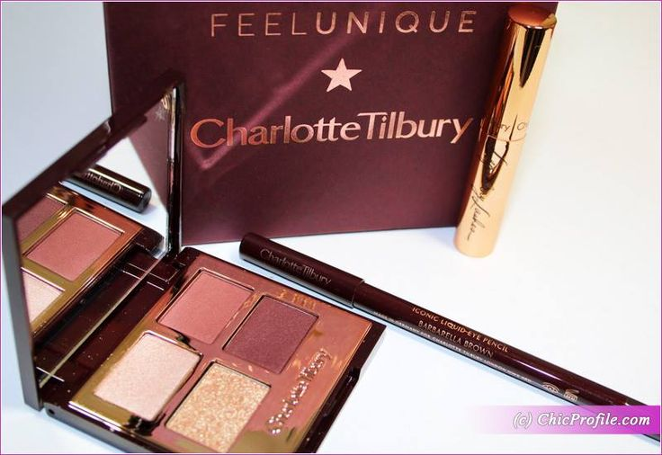 Charlotte Tilbury Stars of the Red Carpet (£58.00) features a mini mascara, the iconic Rock 'N' Khol eyeliner and eyeshadow quad in Vintage Vamp. via @Chicprofile