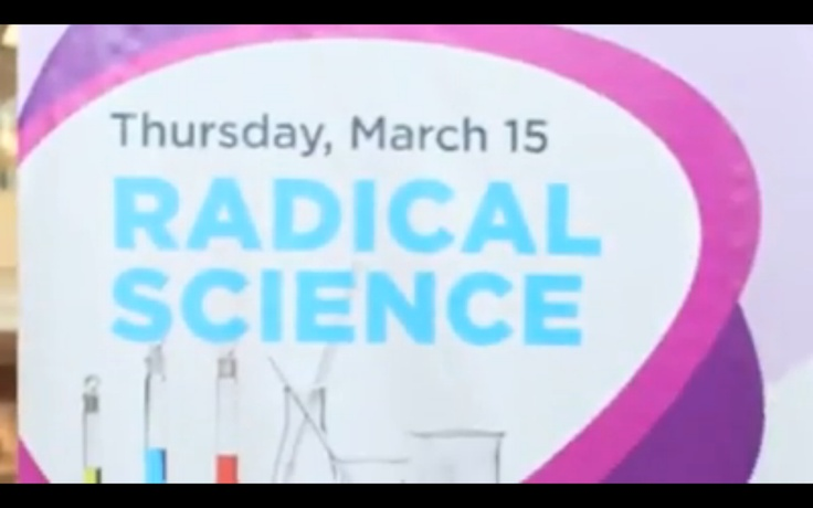 Day 4 of #March Break Fun Camp - Radical Science!  Do you know anyone in the video: http://on.fb.me/FP5TCH