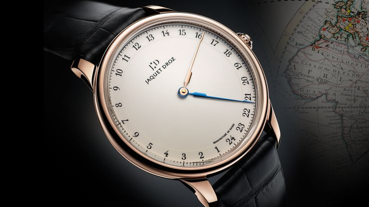 THE GRANDE HEURE GMT PAYS TRIBUTE TO PIERRE JAQUET-DROZ'S MANY TRAVELS. | Jaquet Droz