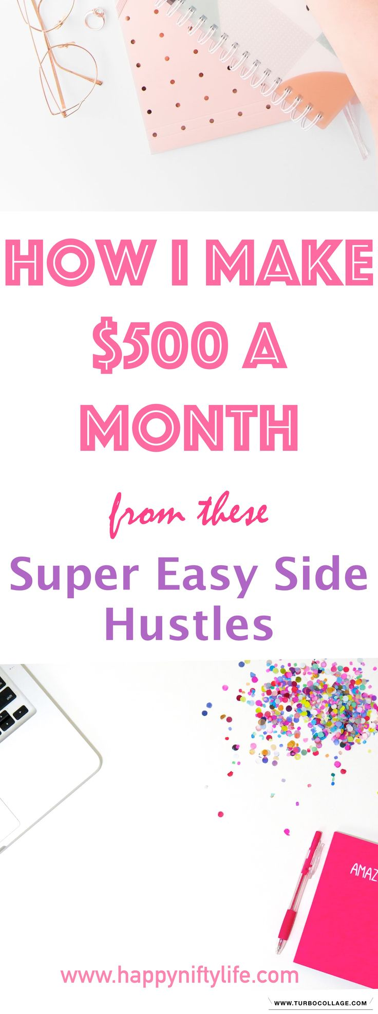 3 Easy Ways to Make Money Online and Work from Home. Working from home full-time or earning a side income is possible through side hustles. Here are some ideas to make extra cash. #workfromhome #sidehustles #stayathomemom #makemoneyonline #makemoneyfast #makemoneyfromhome #makeextramoney #sideincome