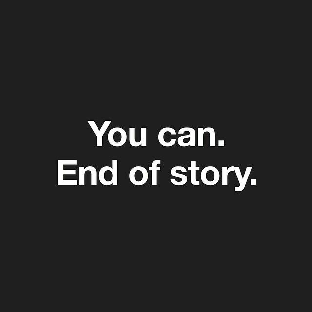 You can..