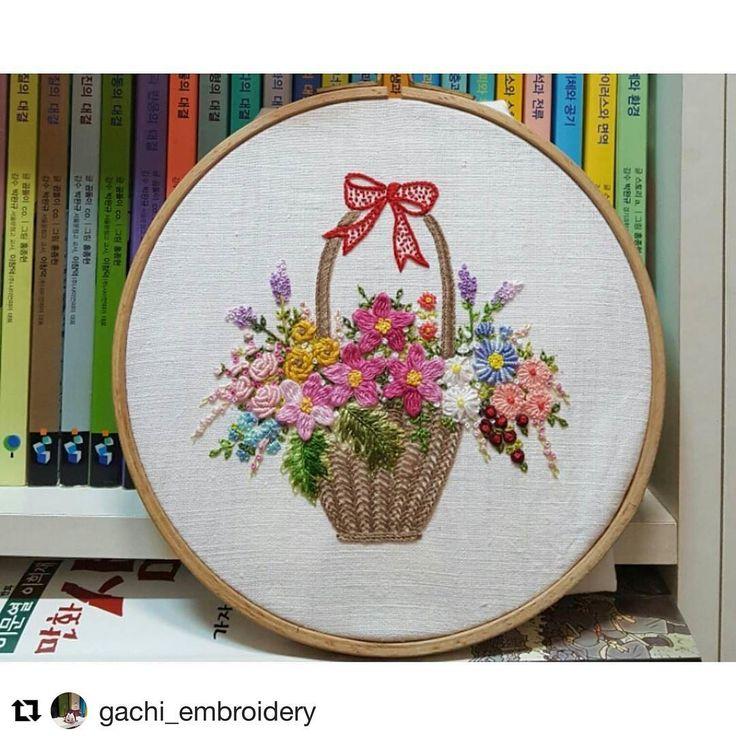 @gachi_embroidery #handembroidery #needlework #ricamo #bordado #broderie #embroidery