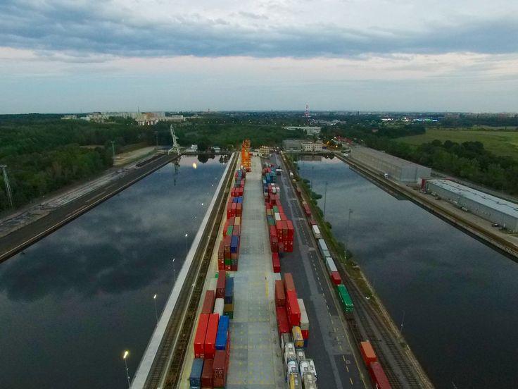 https://flic.kr/p/wZa5nk | Port, Gliwice | Port w Gliwicach