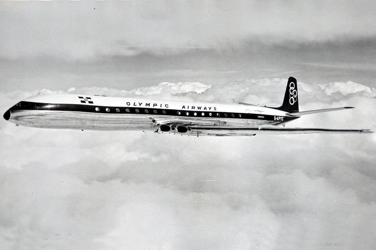 Olympic Airways De Havilland DH-106 Comet 4B [G-APYC]