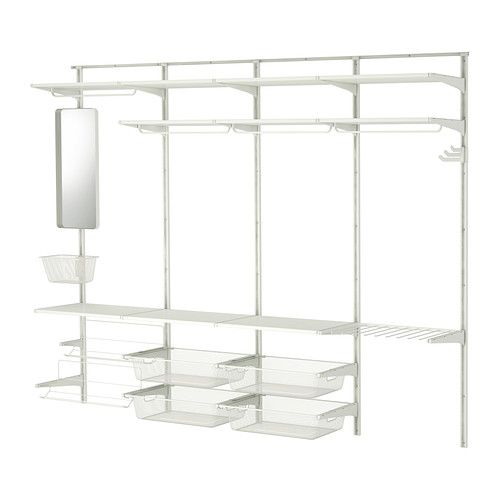 ALGOT Wall upright/rod/shoe organizer - IKEA...some day. who has an algot? does it hold up well?