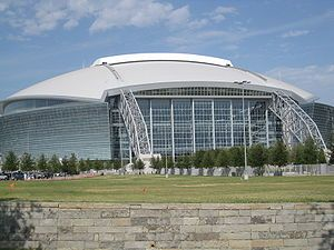 The best stadium in the world, Dallas Cowboys Stadium in Arlington, TX!