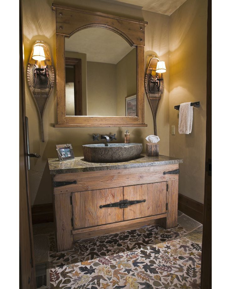 17 Best Images About Luxurious Bathrooms On Pinterest Rustic Powder Room Lighting Design And