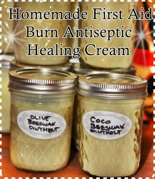 The Homestead Survival | Homemade First Aid Burn Antiseptic Healing Cream | http://thehomesteadsurvival.com