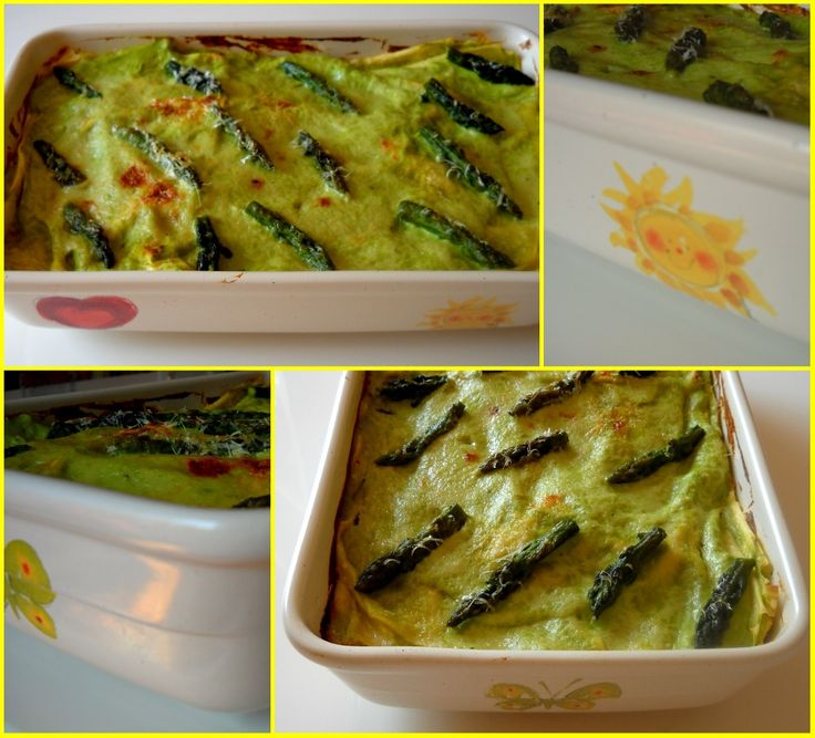 Ricette Barbare: Lasagna with asparagus