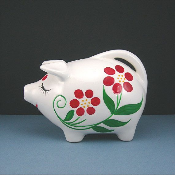 17 Best Images About Piggy Banks/Coin Banks On Pinterest