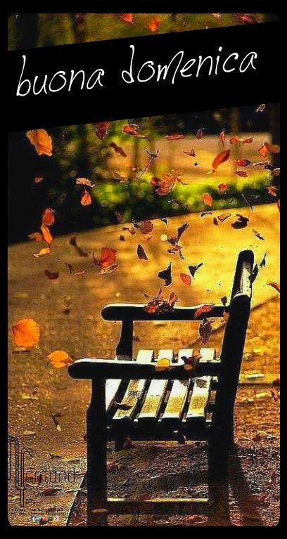 autunno panchina parco