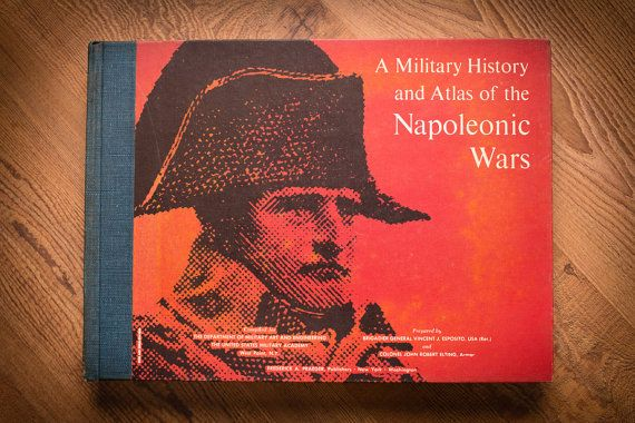 Napoleonic Wars Military History & Atlas Book by TimeForMemories