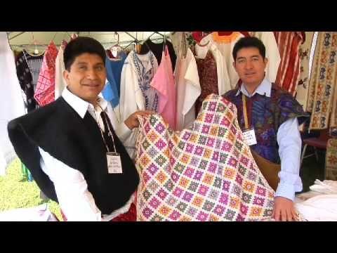 ▶ Feria Maestros del Arte, Chapala, Jalisco, Mexico - Textiles of Chiapas, Mexico - YouTube