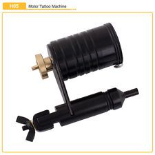 New BLK Rotary Motor Tattoo Machine Gun Supply Quiet Operation for Liner Shader