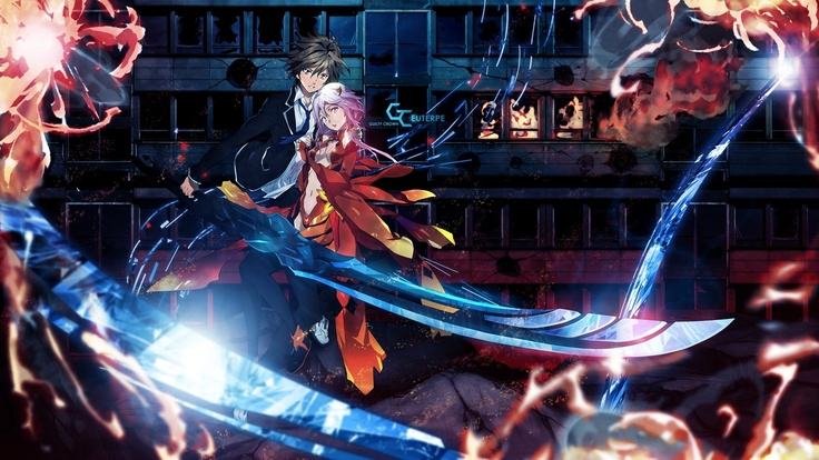 Wallpapers anime backgrounds sword Guilty crown