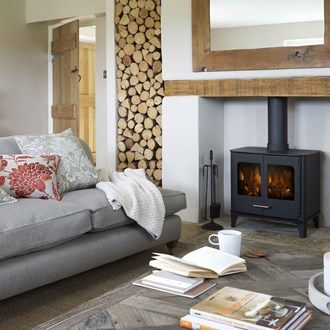New and oh-so-stylish living room designs to inspire.. I love the natural feel of this design.