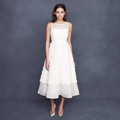 46 best country weddings images on pinterest country for J crew short wedding dresses