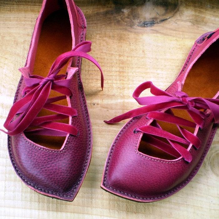 Zapatos de hada para la media estación