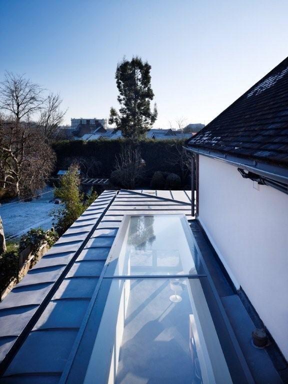 Roof light / Zinc roof detail