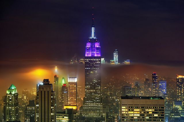 New York City on May 15, 2012 by mudpig, via Flickr - This guy is amazing.: Brilliant Nyc, Newyorkcityfeelings Com, Cities, Empire State Building, Nyc The City, New York City, U.S. States, Photo