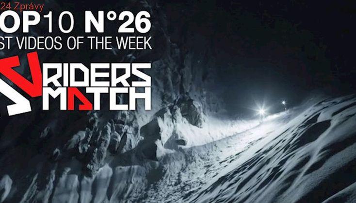 Une video de ski à couper le souffle de nuit à Chamonix   BEST OF THE WEEK n°26 - Riders Match