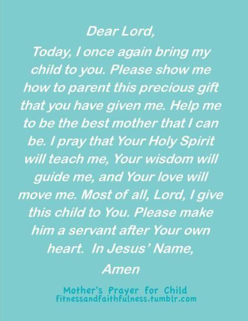 Prayer for your prodigal child