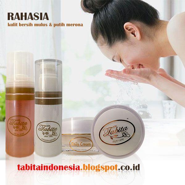 Cara Pemakaian Tabita Skin Care Yang Benar...
