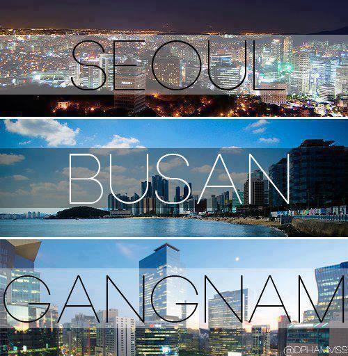 Seoul, Busan, Gangnam, Corée du sud