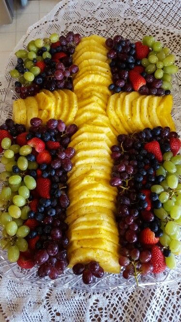 First Communion Fruit Platter More