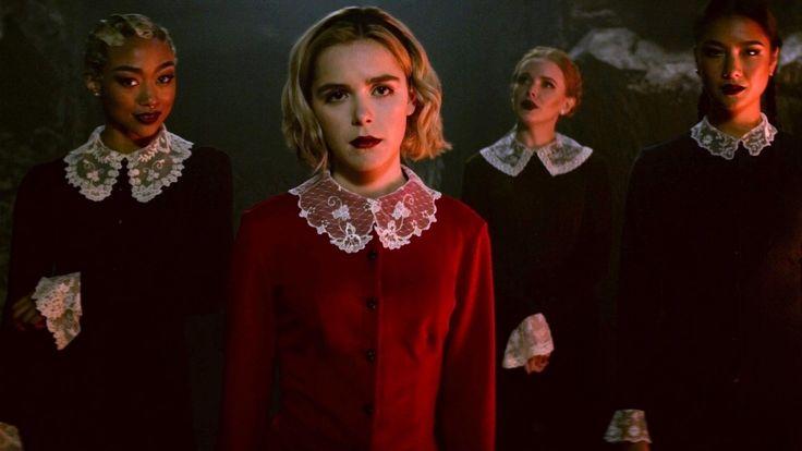 Netflix Renews Chilling Adventures Of Sabrina For Seasons 3 And 4 Geektyrant Sabrina Spellman Sabrina Spellman Outfit Sabrina