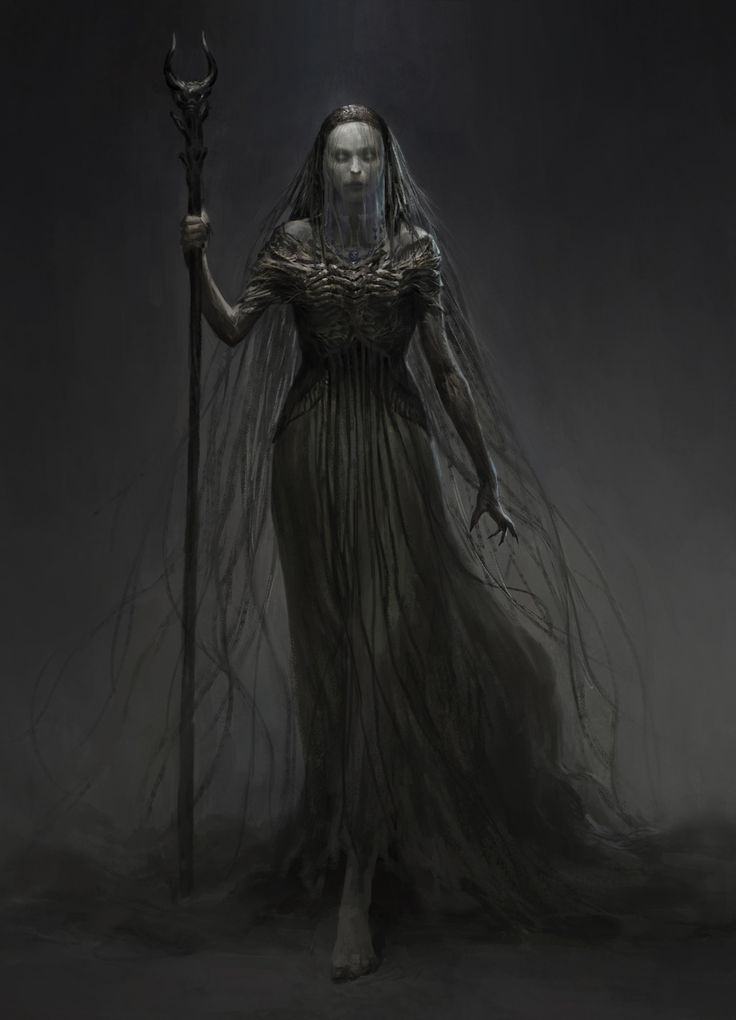 witch – horror character concept by qingkai yang