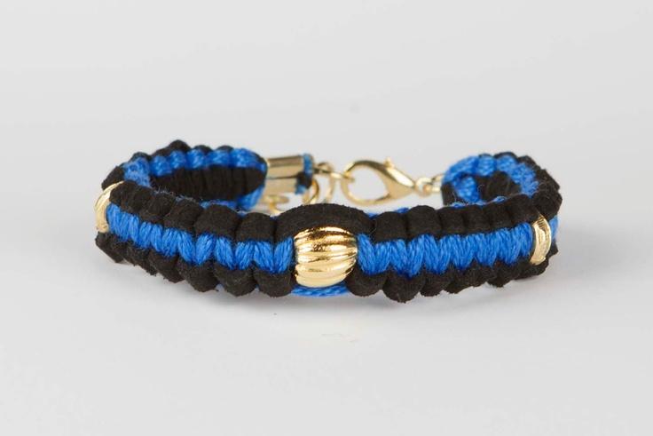 Bracelet Gypsy Soul - Blue / Black