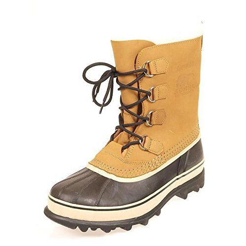 Sorel Caribou, Bottes de Neige fourrées homme: Tweet Cette botte de neige Sorel pour homme est une botte élégante et chaleureuse, avec un…