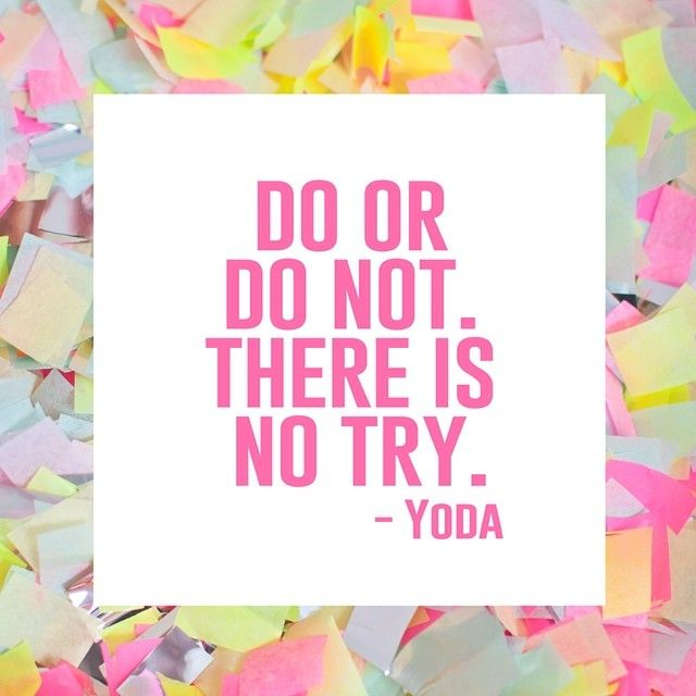 Citaten Yoda : Yoda quote quot there is no try starwarsquote