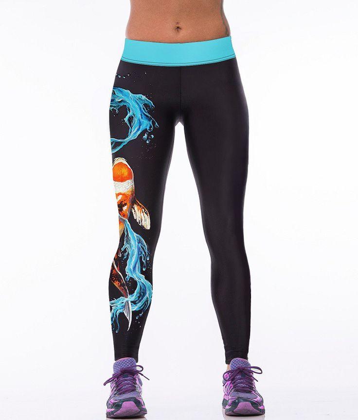 Nemo Dragon, Fitness Leggings
