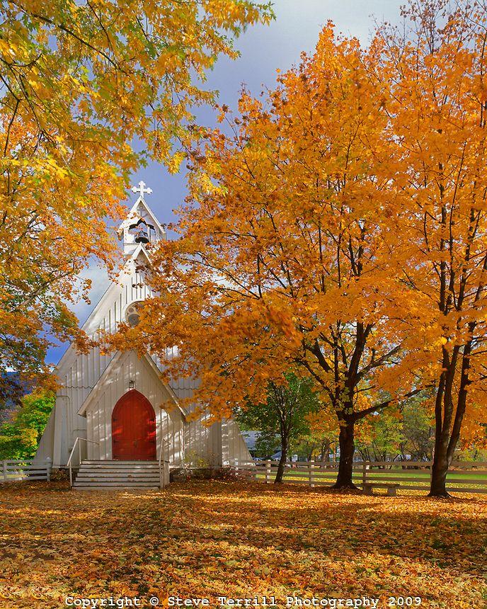 What a quaint lil church