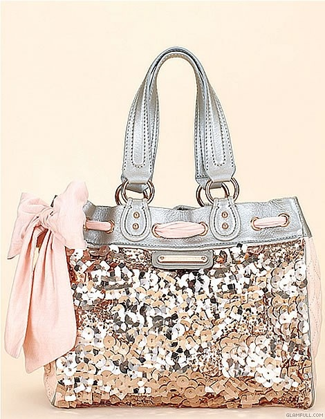G-L-A-M-O-R-O-U-S!! PINK:: Bow:: Purse:: Sequins:: Sparkly:: Glamorous:: Fashion