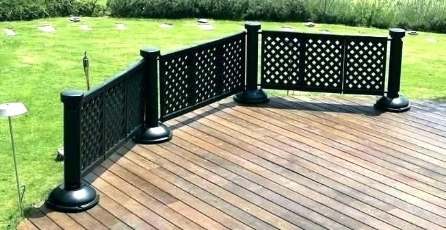 Patio Fencing Ideas Pictures Portable