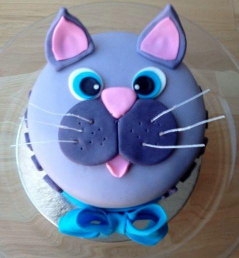 341 best cake cat images on Pinterest Cat cakes Birthday cakes