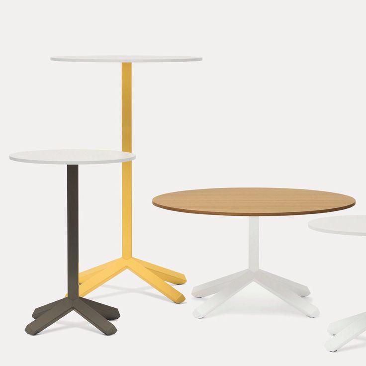 Flamingo round top #tables series #HoReCa designed by #lucanichetto for #lab #emmegi