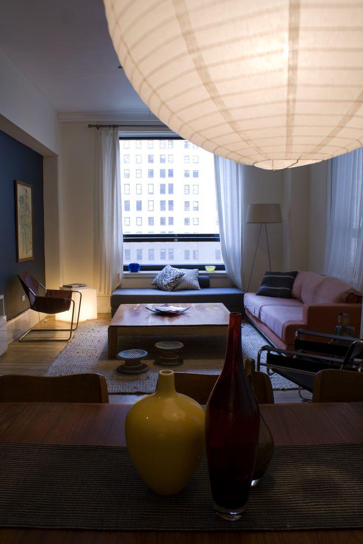 Salón de la casa de nuestra amiga Rocio Fernandez, en Manhattan, NY.