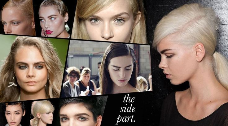 Side part hairstyles: how to wear them now