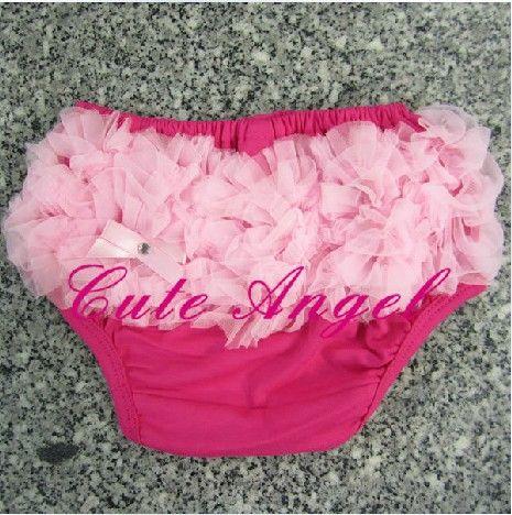 Младенцы красный розовый кружево нижнее белье женские спортивные брюки младенческой кружево полипропилен брюки порожденных горошек шорты трусы 10 шт. / много