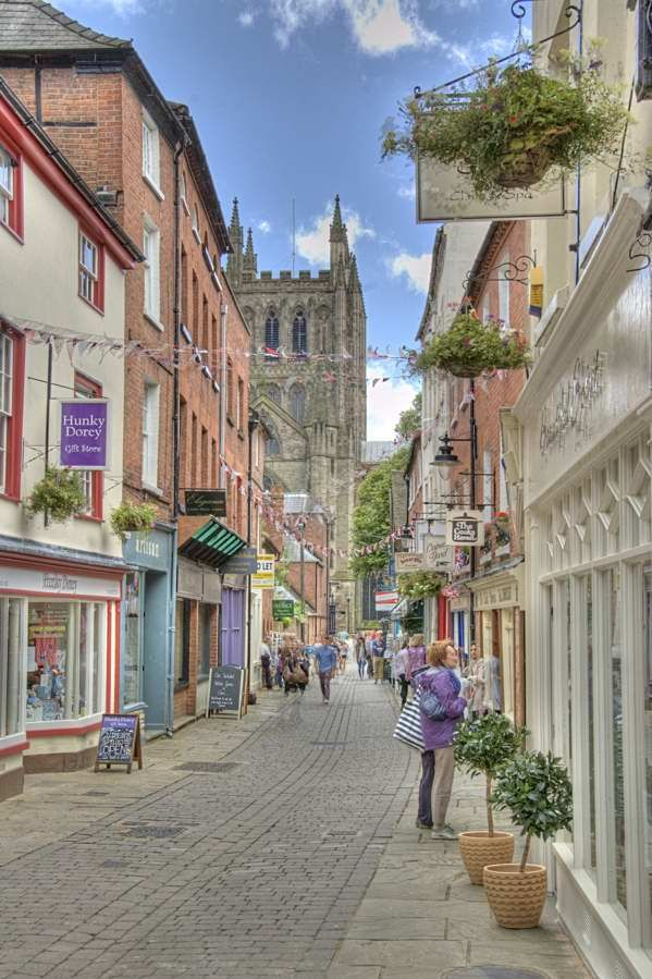 Hereford, England. Another quaint English town! ASPEN CREEK TRAVEL - karen@aspencreektravel.com
