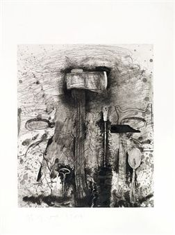Jim Dine - The New French Tools 4 - Roussillon,...