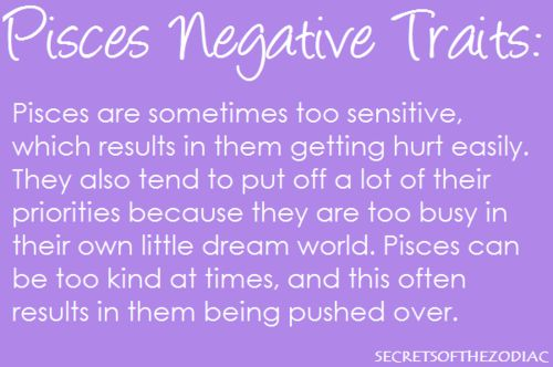 Pisces Bad Traits Related Keywords & Suggestions - Pisces Bad Traits