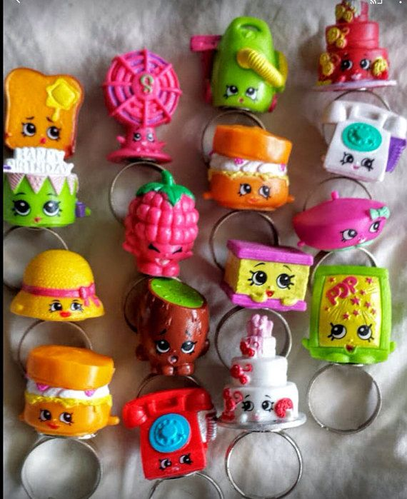 Shopkins Season 3 Rings Whimsical party Favor by SweetPeas3made